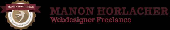 Webdesigner Graphiste Freelance Belfort Montbéliard | Manon Horlacher Mobile Logo